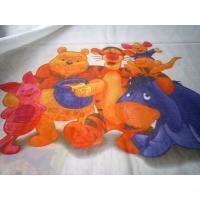 Perdea copii alba, din voal, cu Disney Baby Pooh
